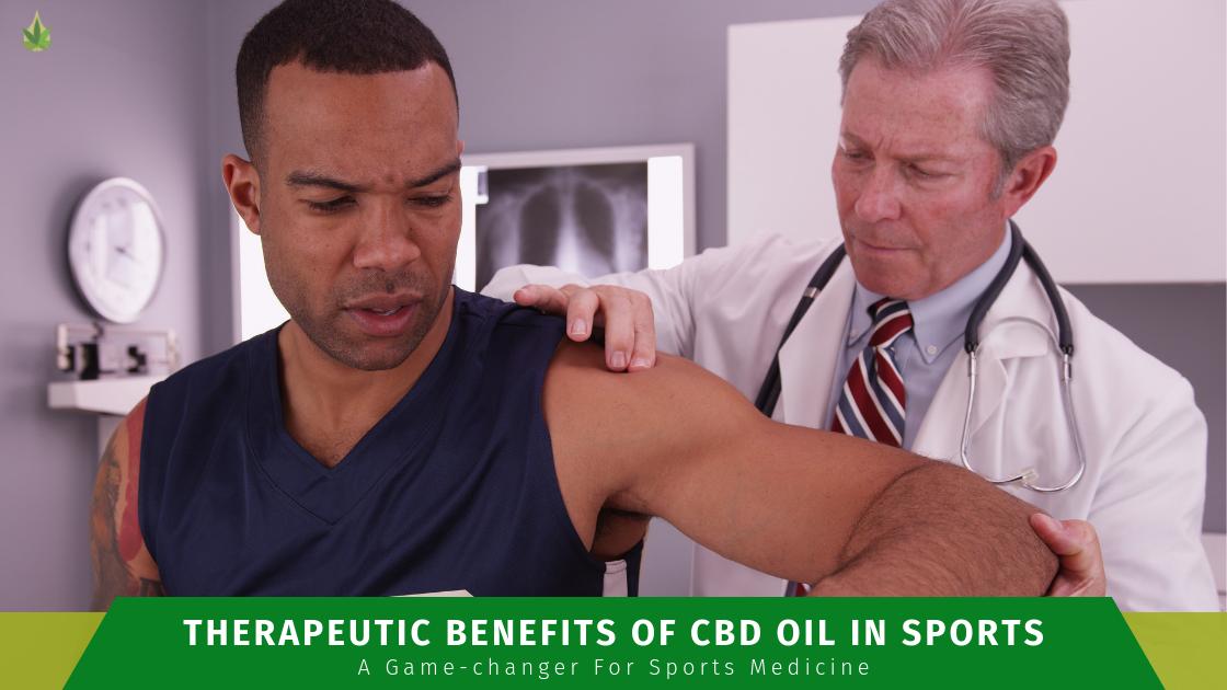 CBD Benefits for sports medicine